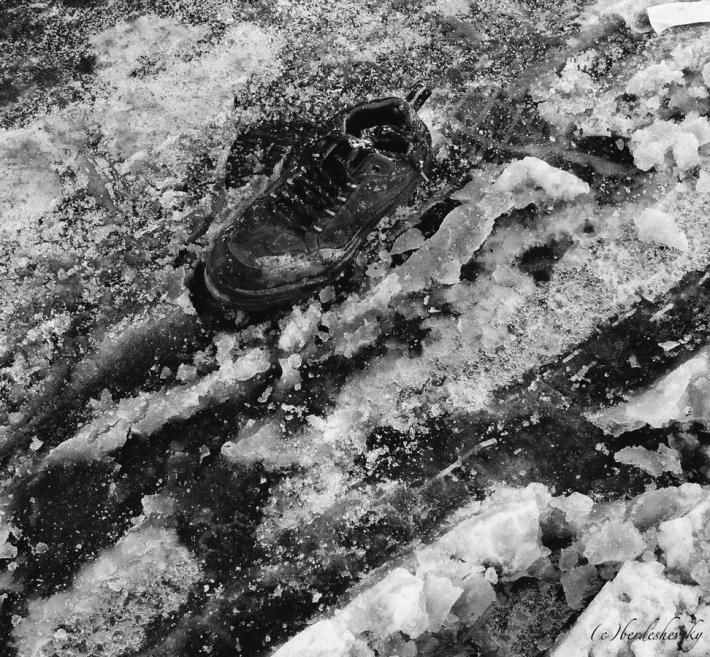 Shoe-on-ice