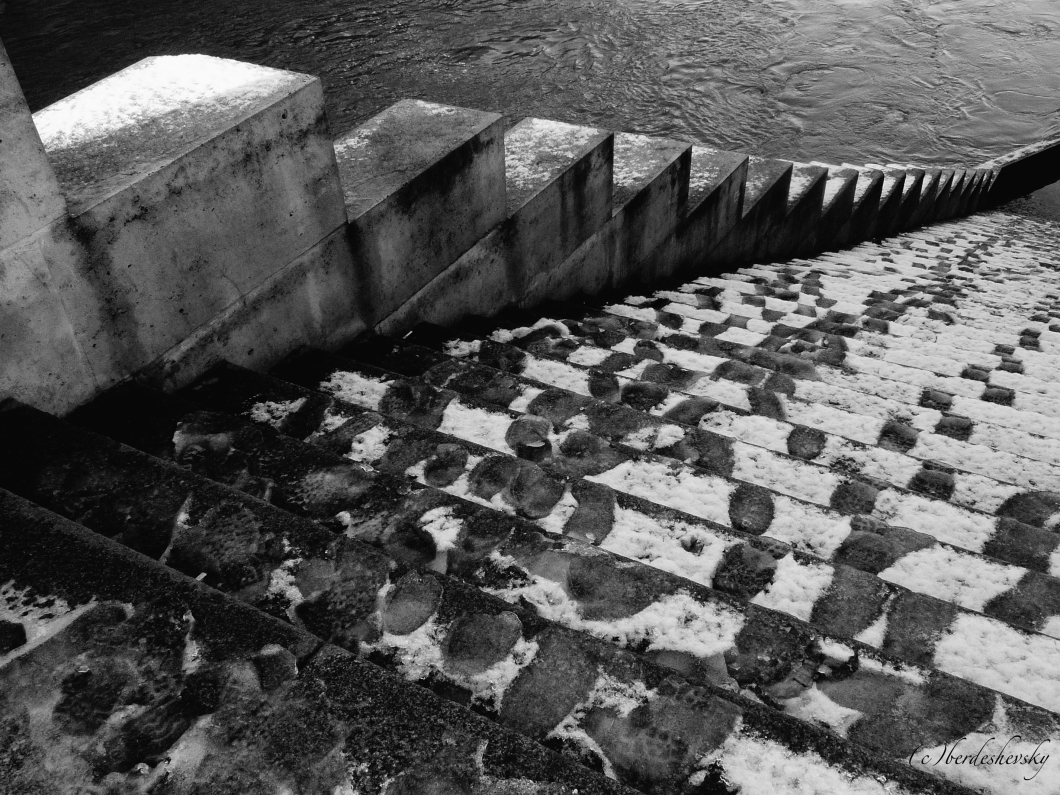 Steps to the Seine