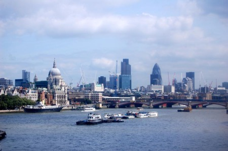 A view of London from Greenwich