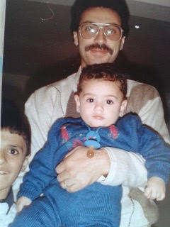 Saleh and his son